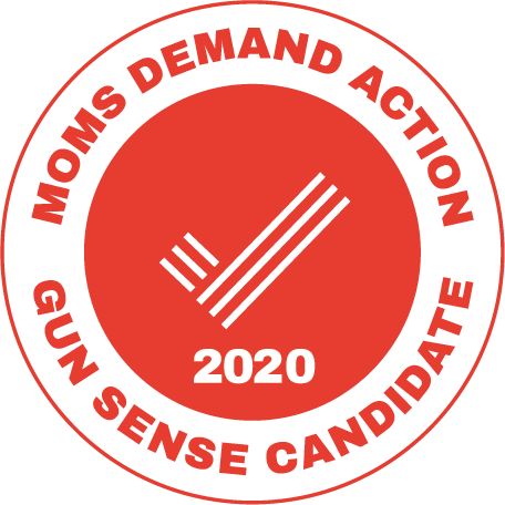 Moms Demand Action Gun Sense Candidate Approved